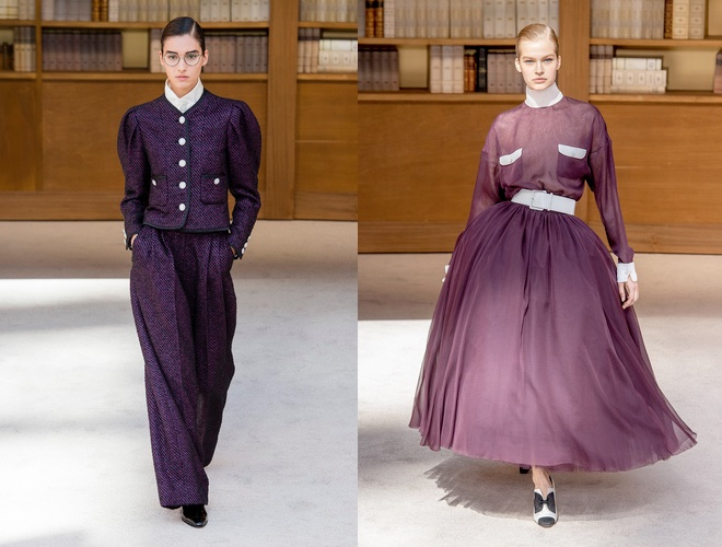 chanel alta moda abiti inverno 2019 2020