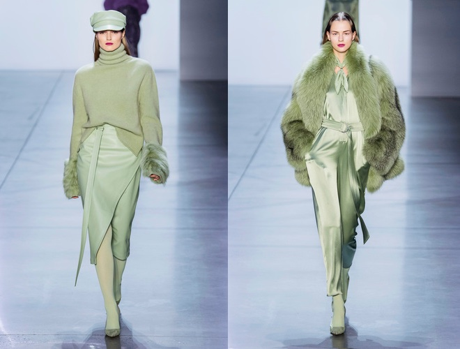 colori moda autunno 2019 verde pistacchio