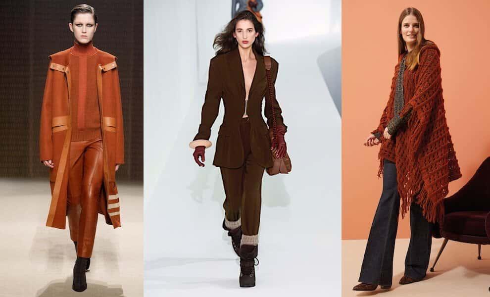 colori moda inverno 2020 toni della terra
