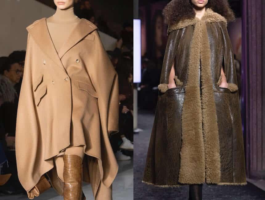 mantelle moda inverno 2020
