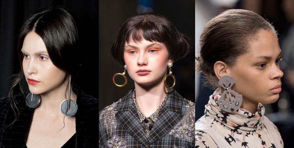 orecchini pendenti moda inverno 2019