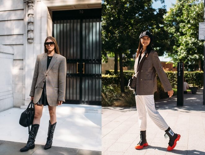 street style moda 2020-londra