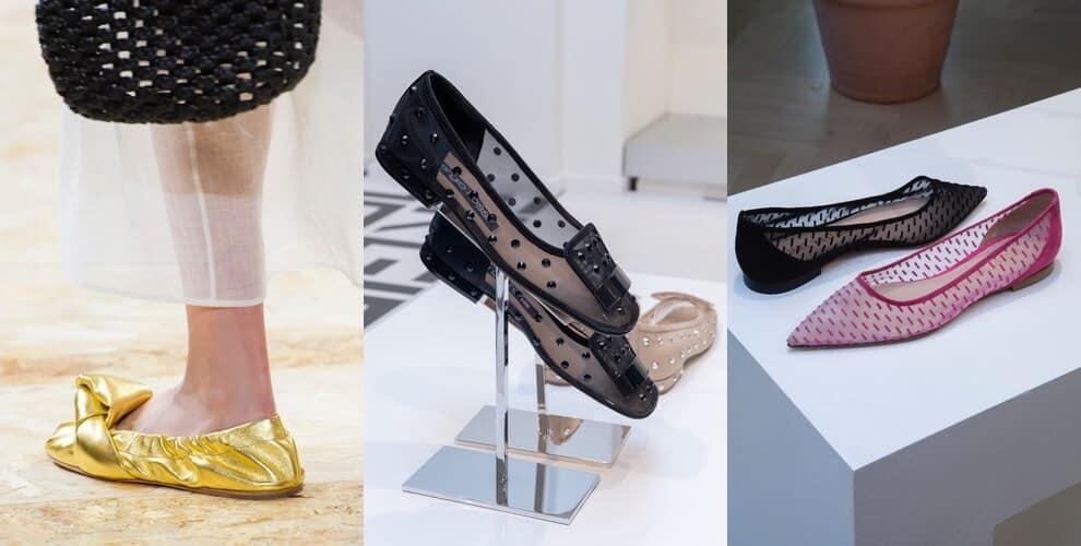 tendenze scarpe primavera estate 2020-ballerine
