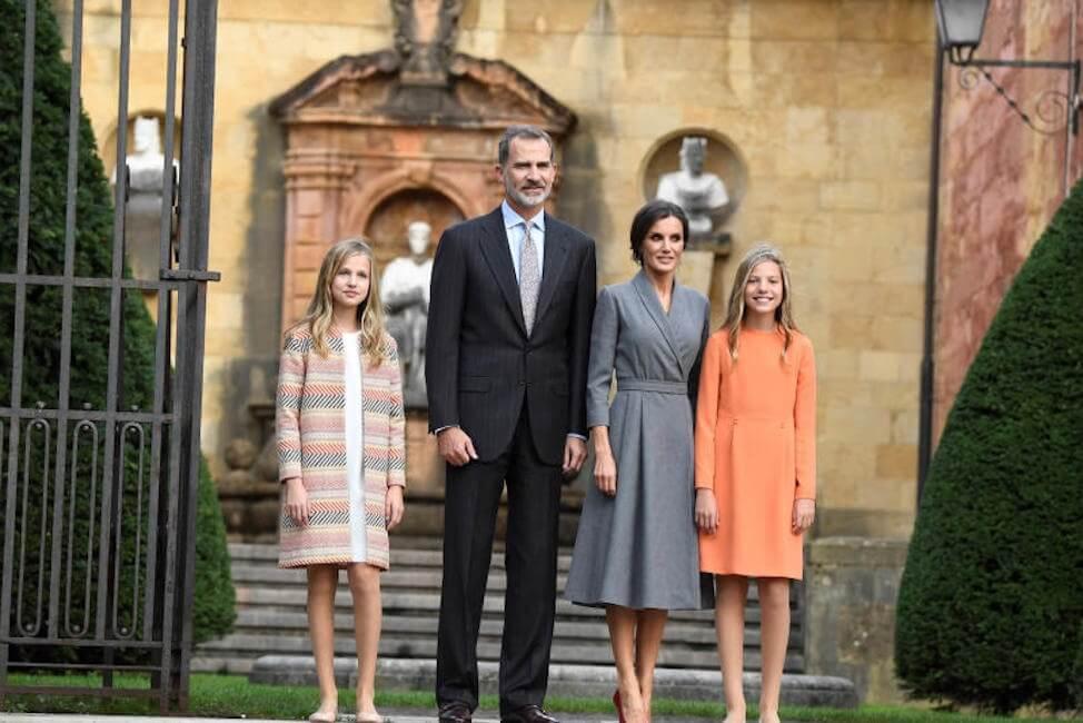 Leonor di Spagna debutto da principessa