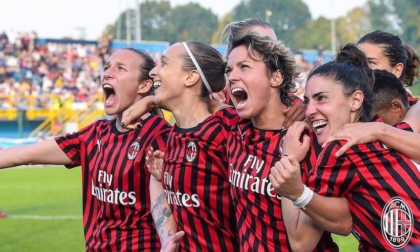 calciatrici Milan femminile