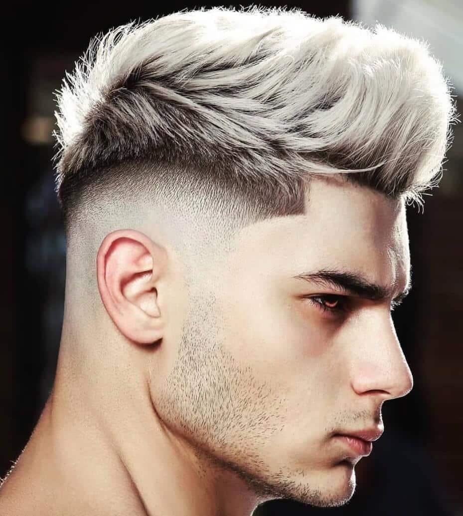 capelli uomo inverno 2019 schiariti