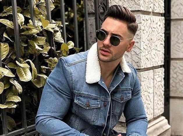 capelli uomo riga laterale inverno 2019