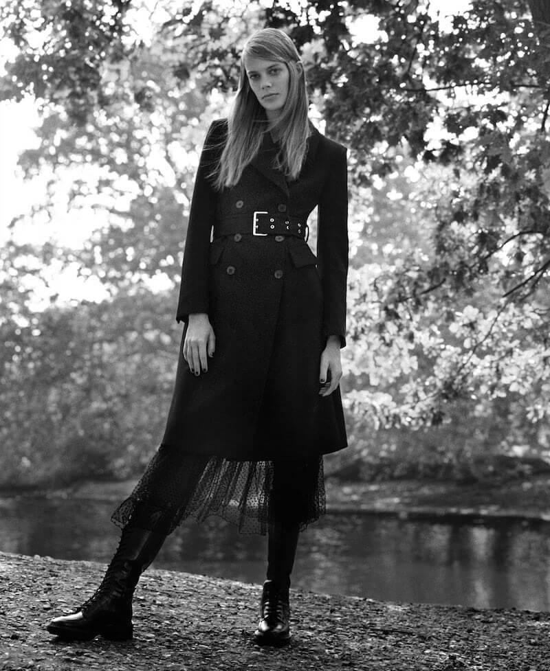 cappotto nero zara moda inverno 2019