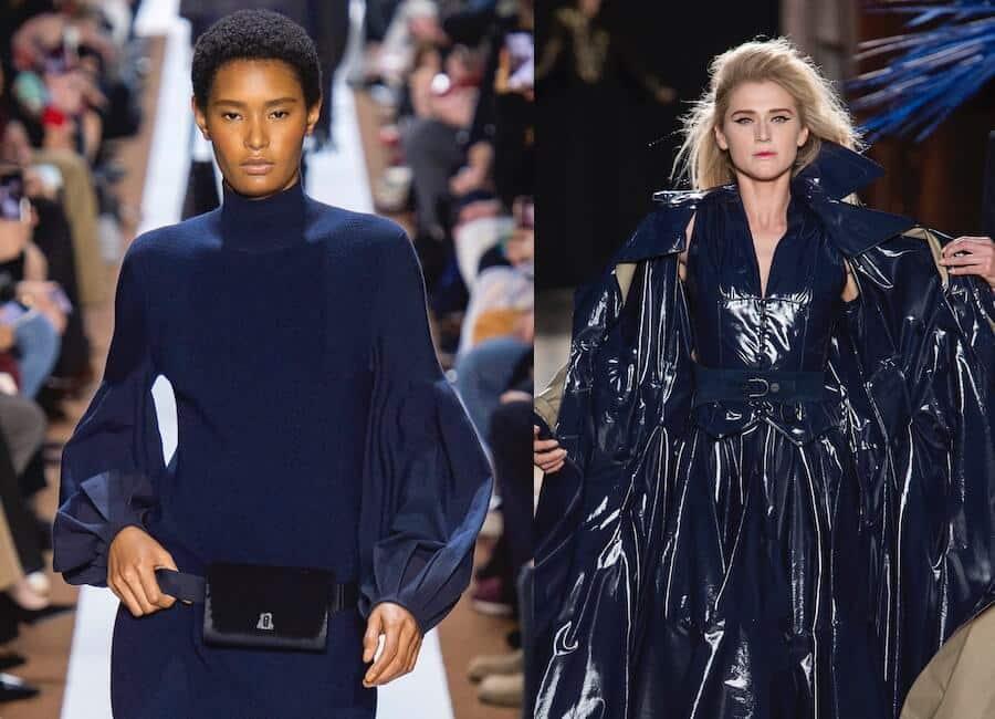 colori moda inverno 2019 2020 abbinare blu