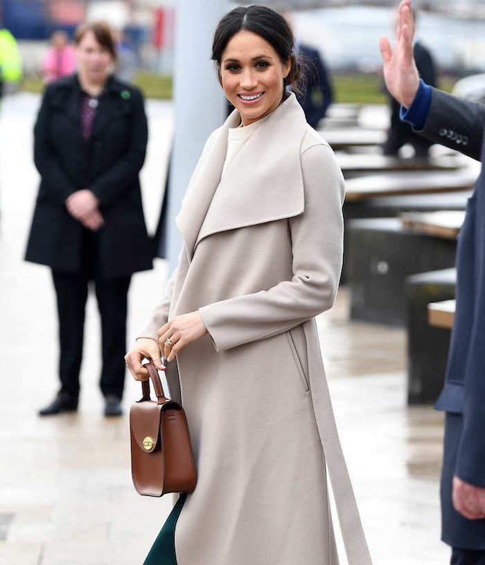 meghan markle cappotto Mackage