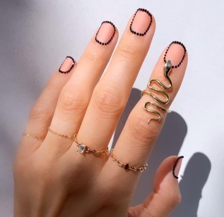 nail art unghie corte inverno 2019 2020