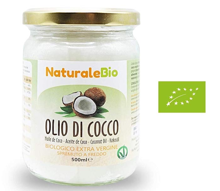 olio di cocco biologico amazon