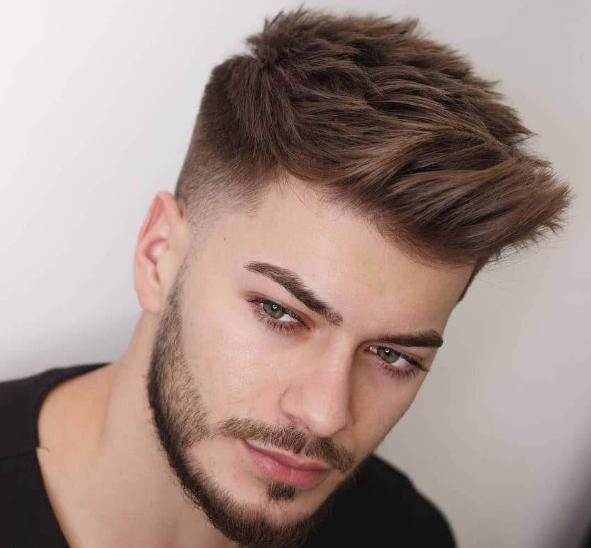 Taglio capelli uomo 2019: corti e sfumati, 10 foto per ...