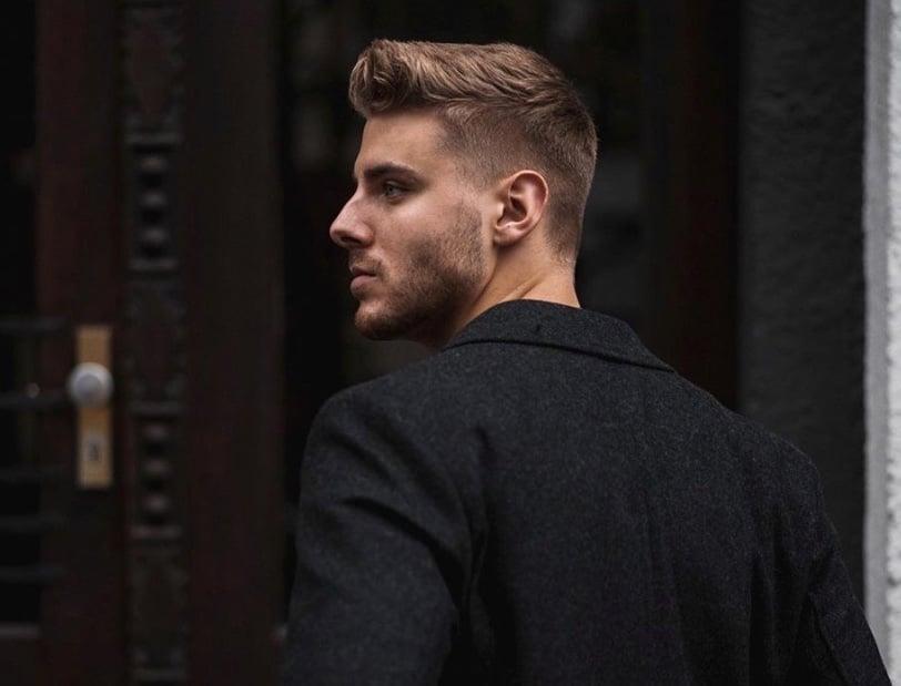 taglio capelli uomo sfumato ciuffo inverno 2019 2020
