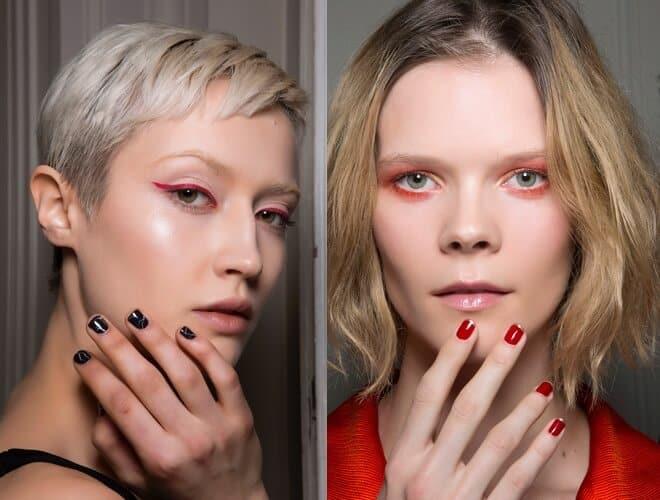 unghie corte smalti moda 2019 2020
