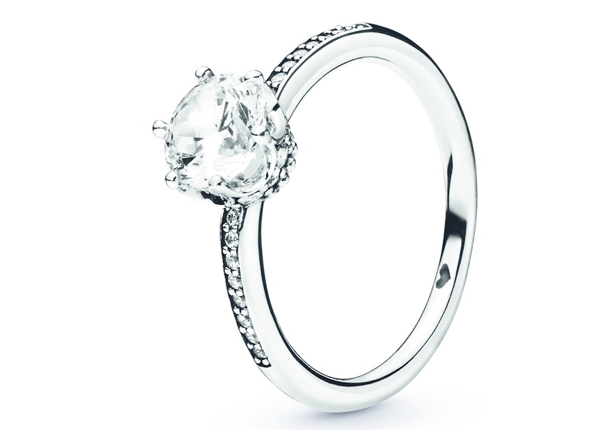 anello pandora brillante