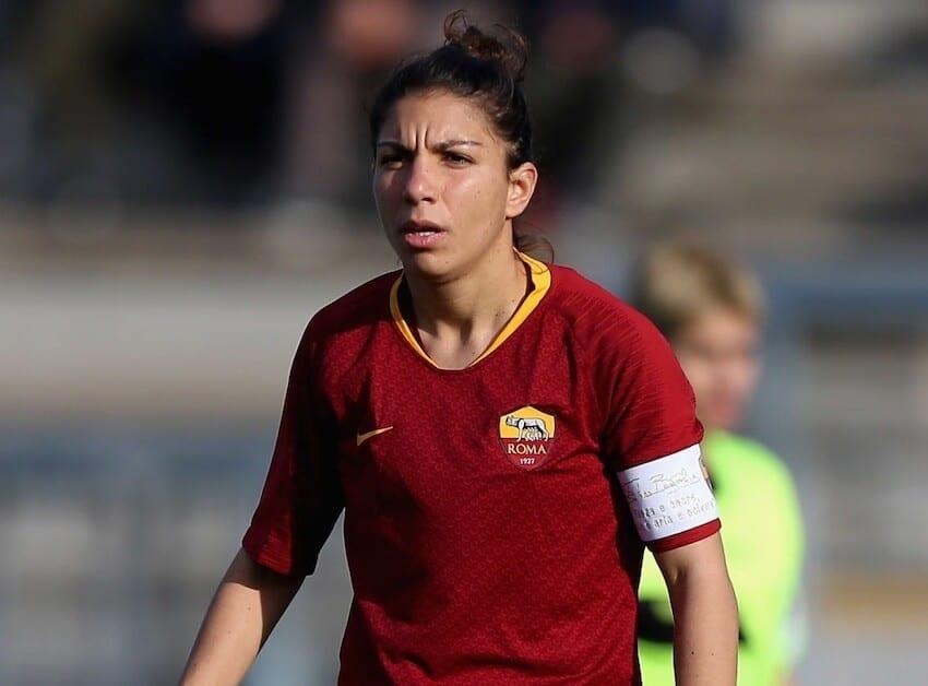 Elisa Bartoli Roma calcio