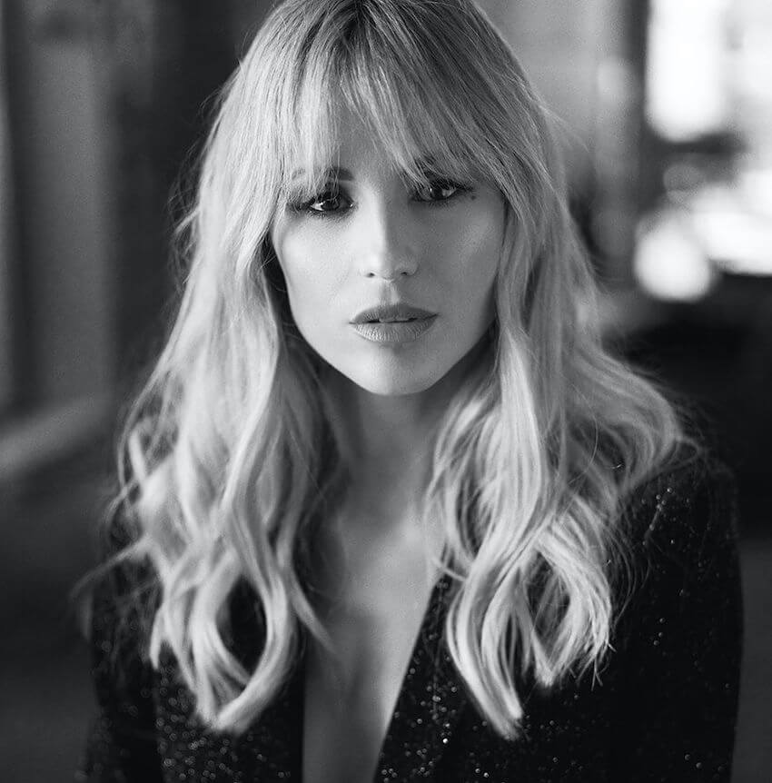 Michelle Hunziker capelli 2020