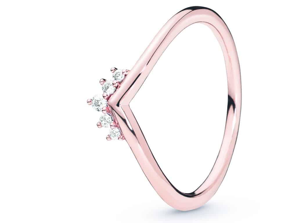 Pandora anello tiara 2019 2020-