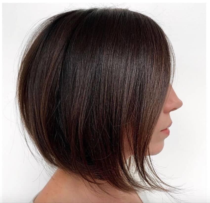 Tagli capelli medi bob inverno 2020 -l oreal