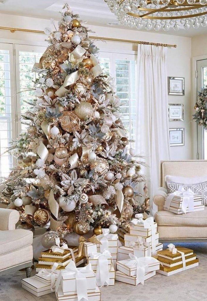 albero di natale 2020 elegante