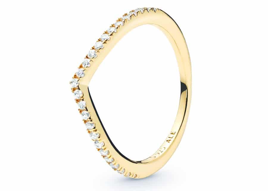 anello pandora fedina oro catalogo inverno 2019 2020