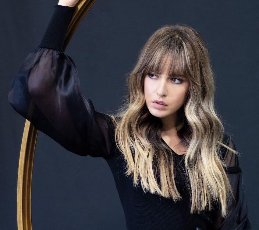 capelli lunghi con ondulati Salvo Filetti 2020