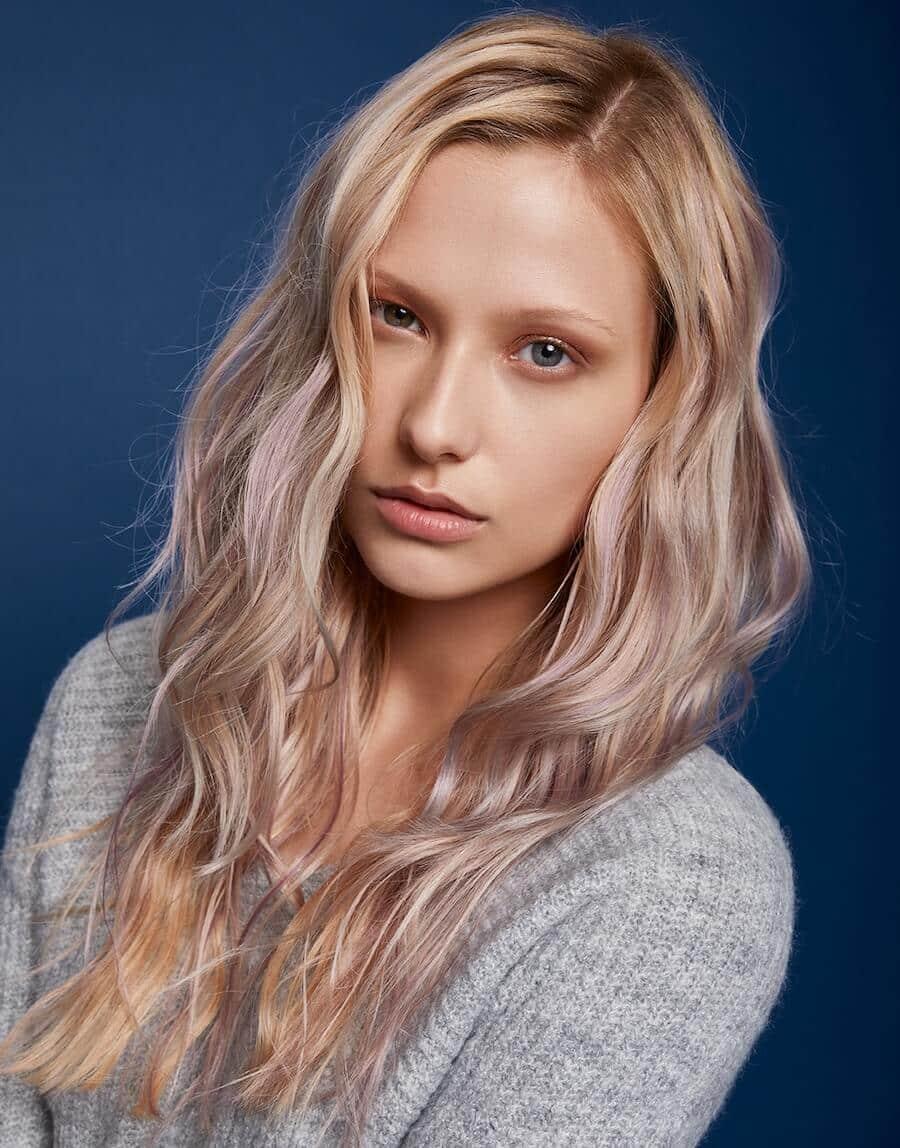 capelli lunghi mossi inverno 2020