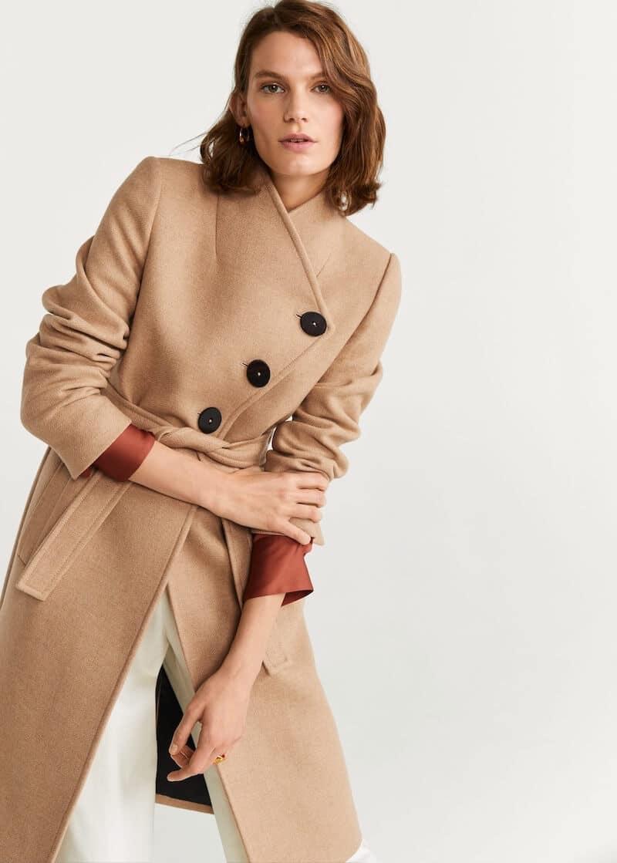 cappotto cammello mango inverno 2019 2020
