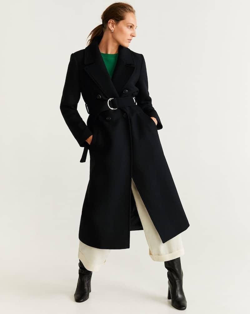 cappotto in lana mango inverno 2019
