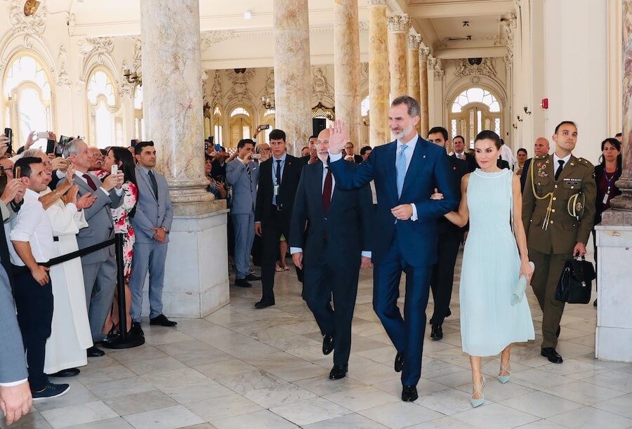 letizia felipe cuba 13 novembre 2019