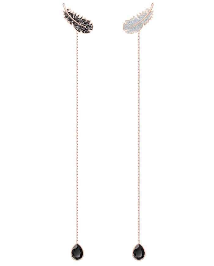 swarovski natale orecchini lunghi inverno 2019 2020