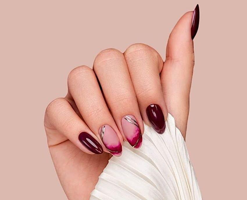 unghie eleganti capodanno inverno 2020
