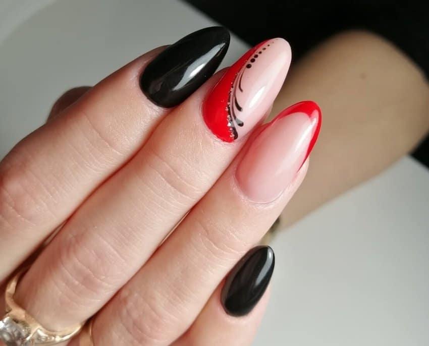 unghie gel nail art inverno 2019 2020