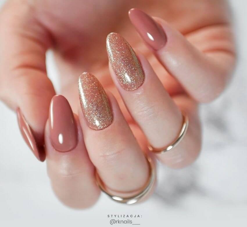 unghie natale eleganti