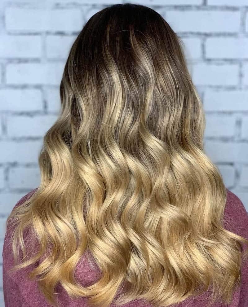 capelli biondi 2020 ombre hair