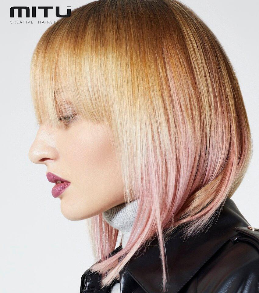 capelli biondi rosa 2021