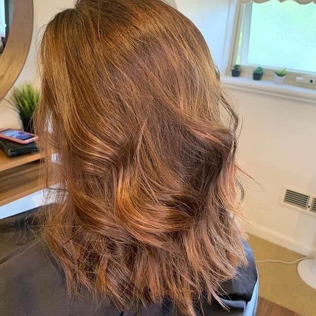 capelli bronde 2020