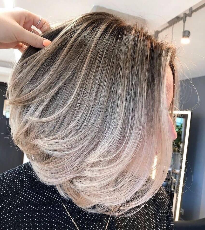 taglio capelli bob scalato-inverno 2020