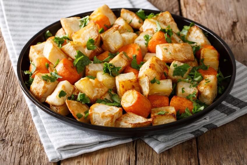 rape biache gratinate con carote ricetta