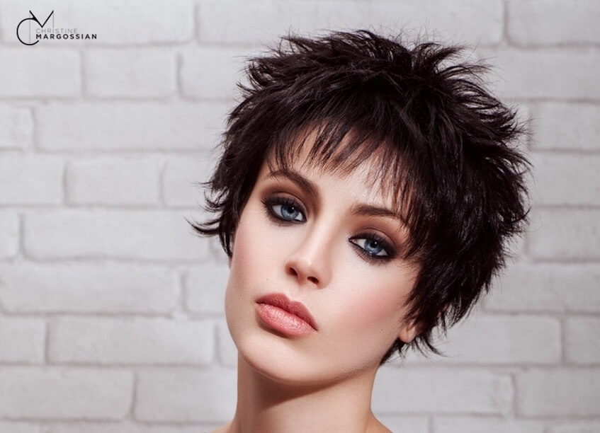tagli capelli corti mossi