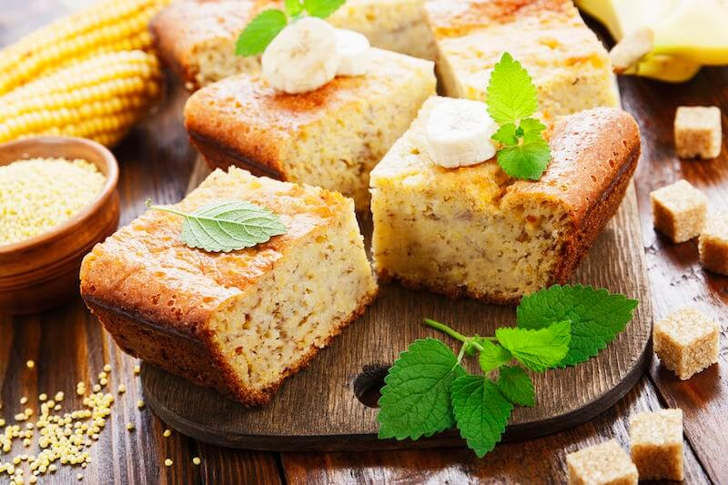 torta di polenta facile. Ricetta