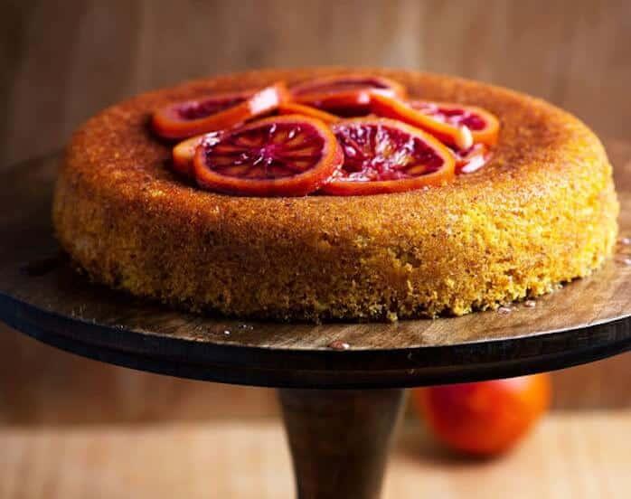 torta polenta e arance caramellate ricetta