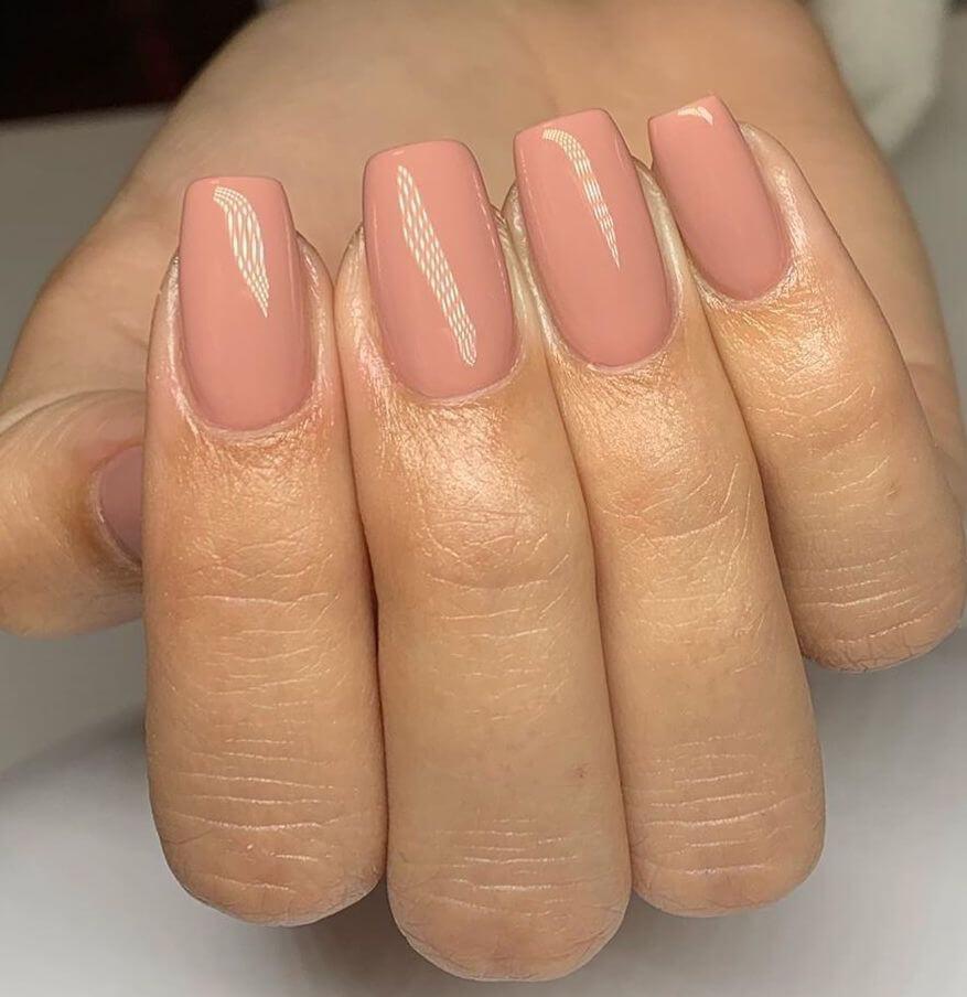 unghie gel rosa antico OPI 2020