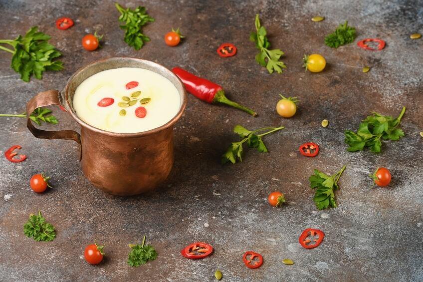 zuppa di rapa bianca