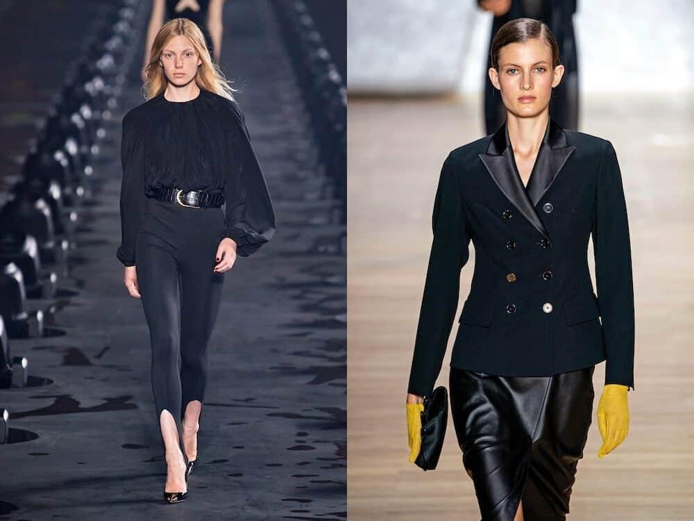 Colori moda primavera estate 2020 nero