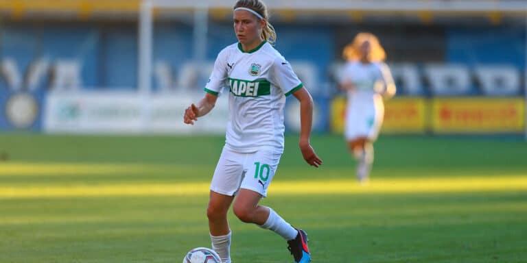 Dubcova giocatrice Sassuolo calcio femminile