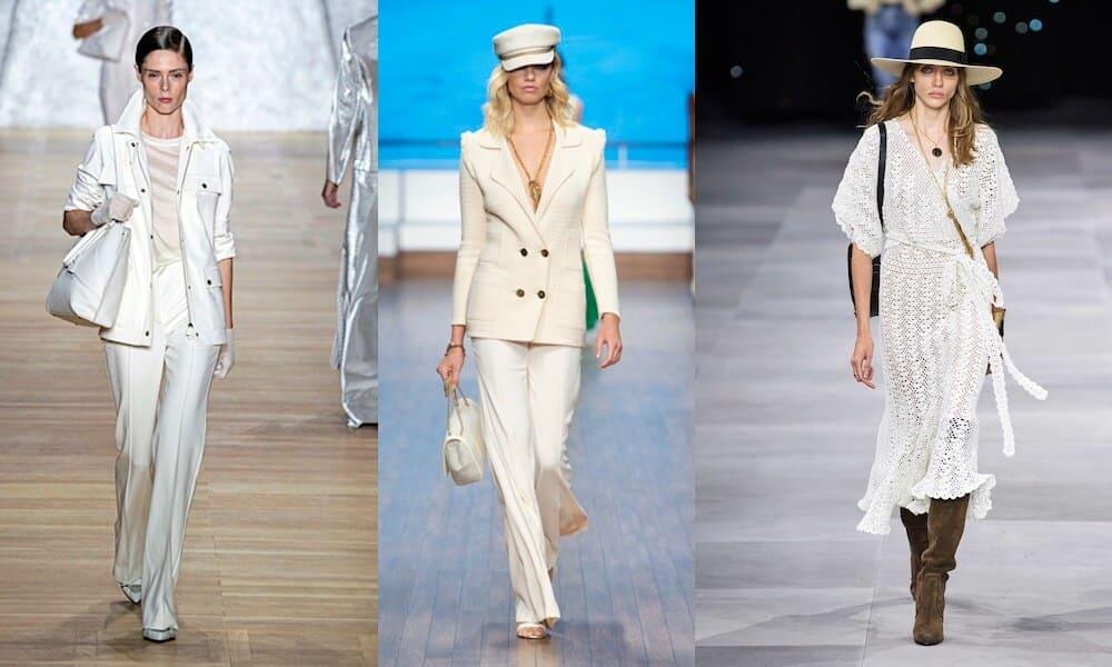 Moda abiti bianchi estate 2020