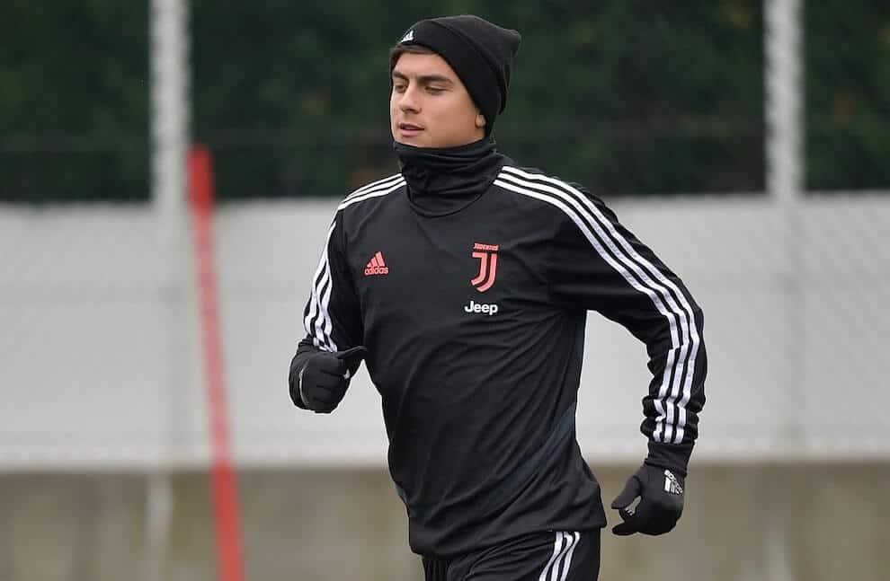 Paulo Dybala allenamenti Juve