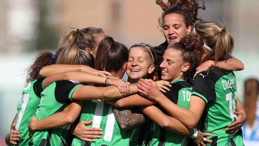 Sassuolo femminile giocatrici 2021-2022